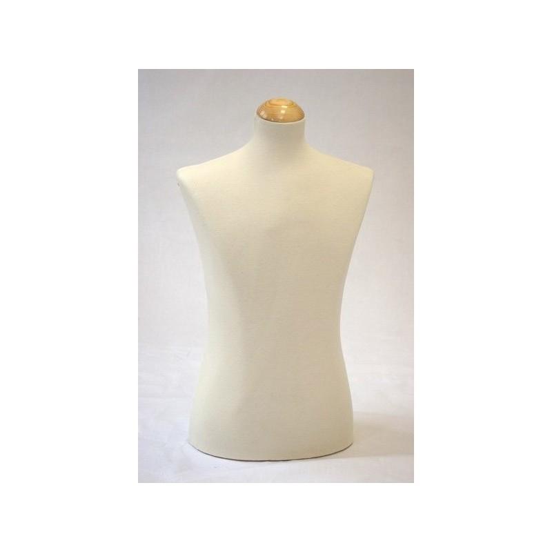 buste de couture buste de couture mannequin femme d co vitrine beige dec04007 achat vente buste. Black Bedroom Furniture Sets. Home Design Ideas